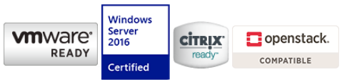 Fully certified storage virtualization solutions