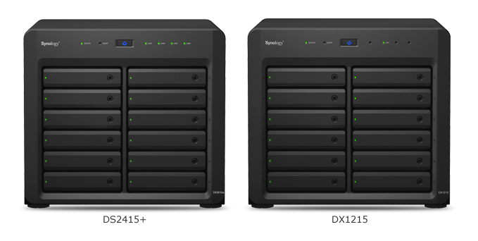 Robust scalability up to 24 drives