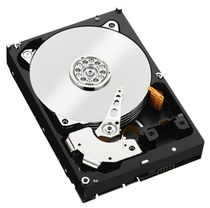 WD Re Hard Drive View